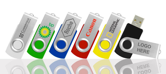 2GB Twister USB Stick